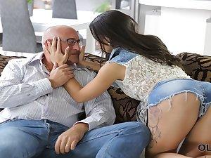 OLD4K. Tender carnal Mira has unexpected assfuck sex