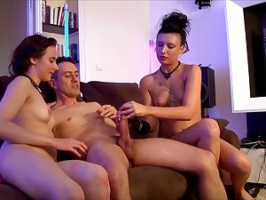 Amel Annoga and friends are fucking in front be fitting of the camera in the air make a porn video