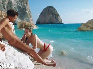 VIXEN Secret Vacation Sex is nonpareil Sex