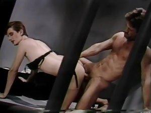 Super Dark-Tanned Bronzed Gradual Dark Bush Sharon Mitchell - Club Exotica (Clip) (1986)