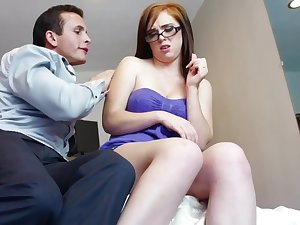 Mary Jane is giving free blowjobs to usually guy she wants to fuck after work