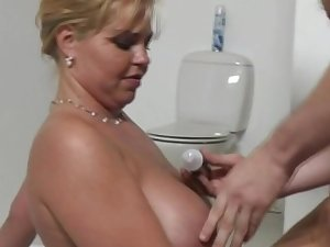 Obese Blonde Dutch MILF Sexy Time Moment To Feel In agreement