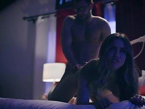 Revenge cheating forth hot Latin babe Alina Lopez
