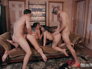 Crazy foursome leads these wives to swap partners