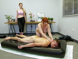 Lauren Phillips is a top nuru masseuse, added to this scrounger reaped the benefits