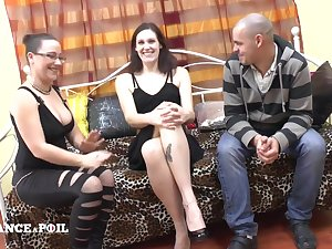 Casting Couch Of An french Bush-league Carnal knowledge Couple